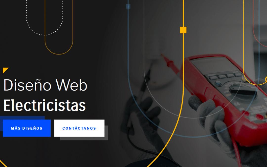 Diseño Web Electricistas