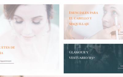 Diseño Web Centro Estética- Peluquería